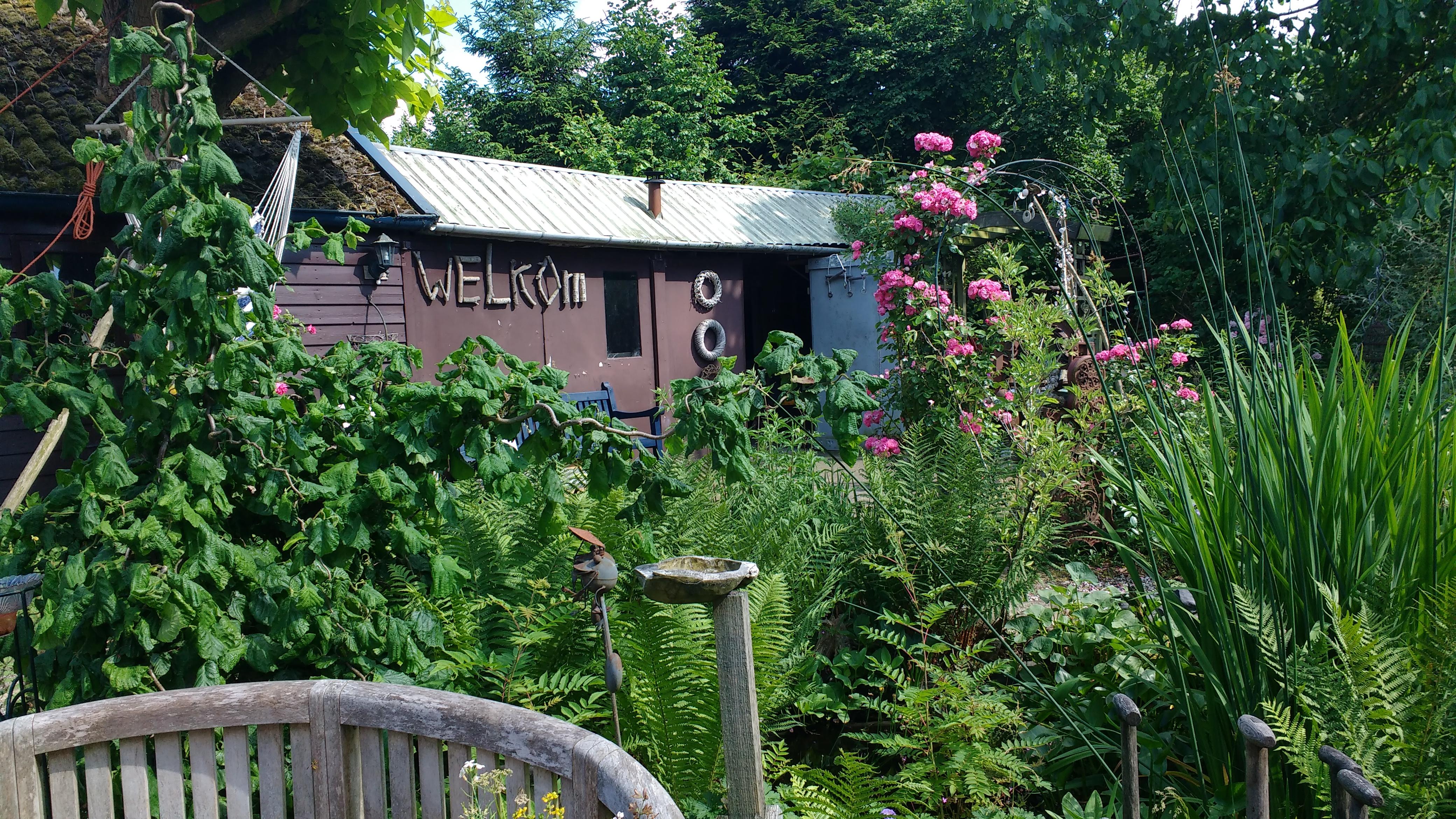 Welkom in onze tuin